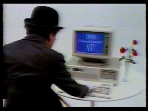 IBM Software Commercial with Charlie Chaplin