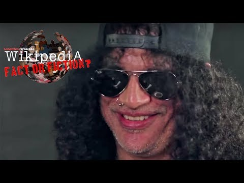 Slash - Wikipedia: Fact Or Fiction?