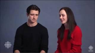 Tessa and Scott Interview CBC (December 5th, 2017)