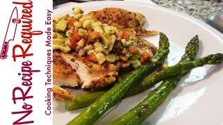 Spicy Chicken Breast Recipe - Southwestern/mexican Chicken - Noreciperequired.com