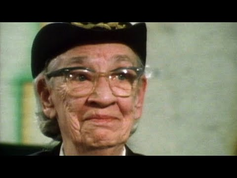 March 6, 1983: Grace Hopper—She taught computers to talk