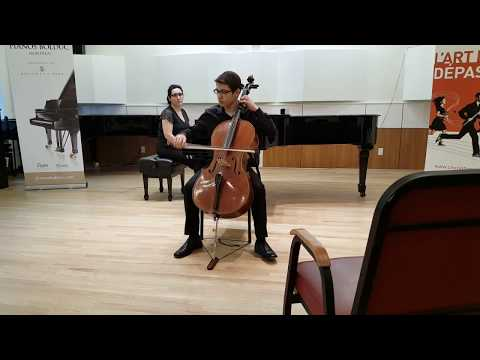 Levon Markosyan, Quebec National Audition, Canadian Music Competition