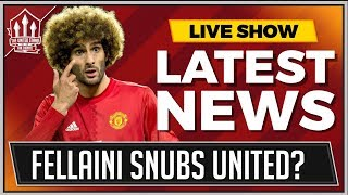 FELLAINI Stuns MOURINHO and Manchester United