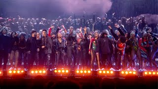 STORMZY - HEAVY IS THE HEAD MEDLEY & ANYBODY feat. BURNA BOY & TIANA MAJOR9 [LIVE AT THE BRITs 2020]