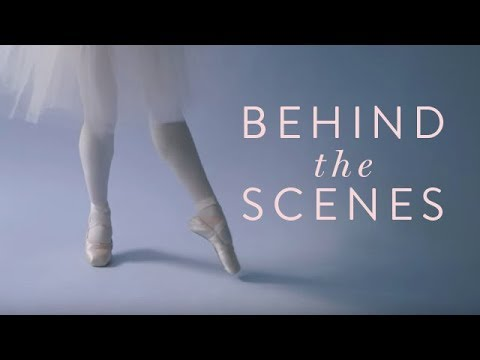 Ballet Beautiful Behind the Scenes: White Sweetheart Leotard