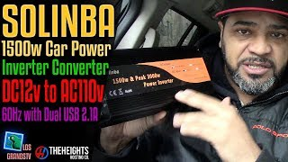 Solinba 1500w Car Power Inverter