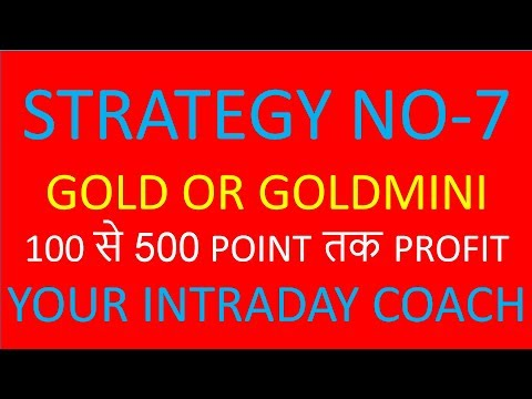STRATEGY NO-7 GOLD, Simple Strategy to Trade GOLD
