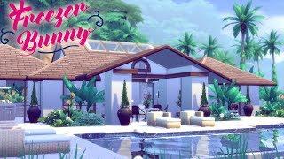 The Sims 4 | TROPICAL CONTEMPORARY VILLA | Speed Build - No CC 🌴 🍹