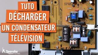 Comment décharger un condensateur de carte sur une télévision