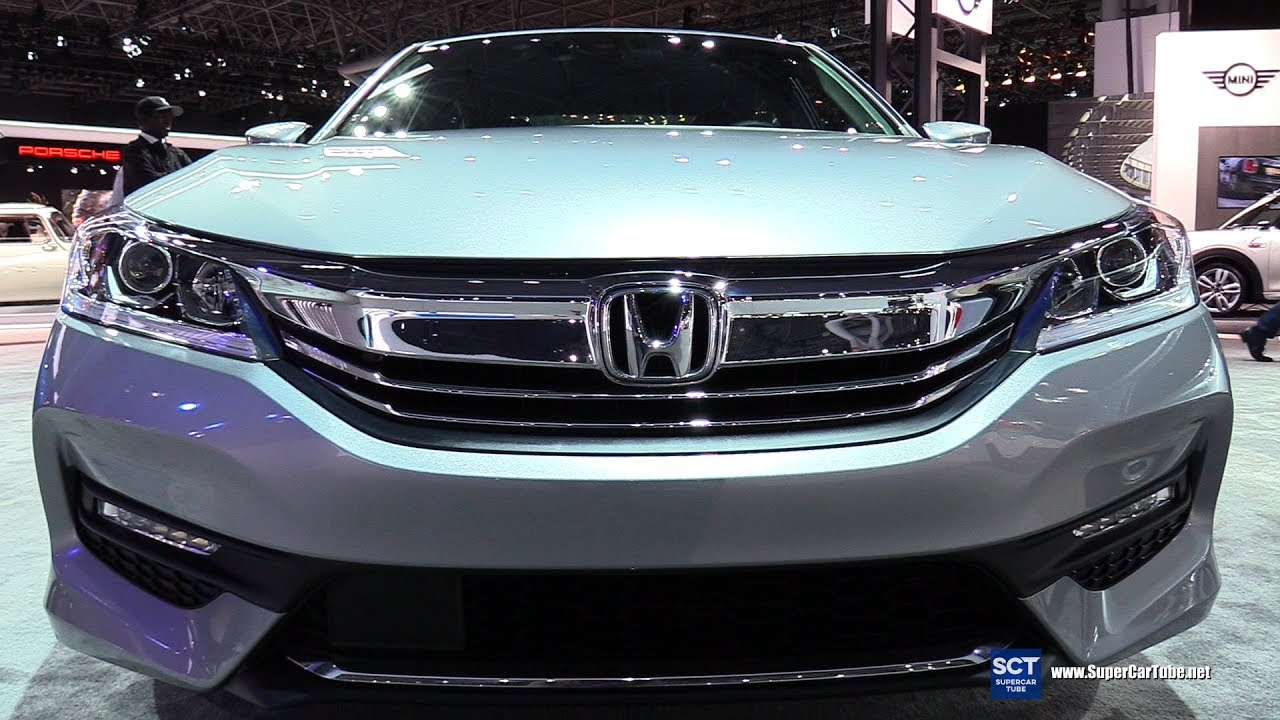 2017 Honda Accord Sport Exterior Interior Walkaround 2017 New York Auto Show Youtube