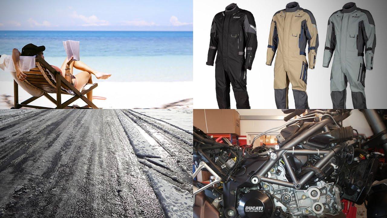 잡설 | 1달 휴가, 옷 자랑(KLIM Hardanger), 겨울철 라이딩, 3만 데스모가 다가온다 ㄷㄷ