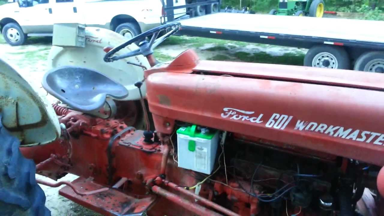 Sold Workmaster 601 Ford 641 Sold Youtube