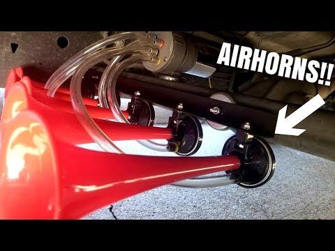 DIY Airhorn Install!