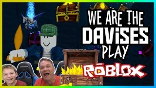 Meet My New Pet | Roblox Treasure Hunt Simulator EP-74 | We Are The Davises Gaming