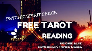 Free Tarot Reading Psychic Spirit Fairie ID# MY4320