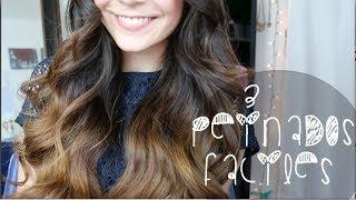 3 PEINADOS FACILES! (San Valentin) Thumbnail