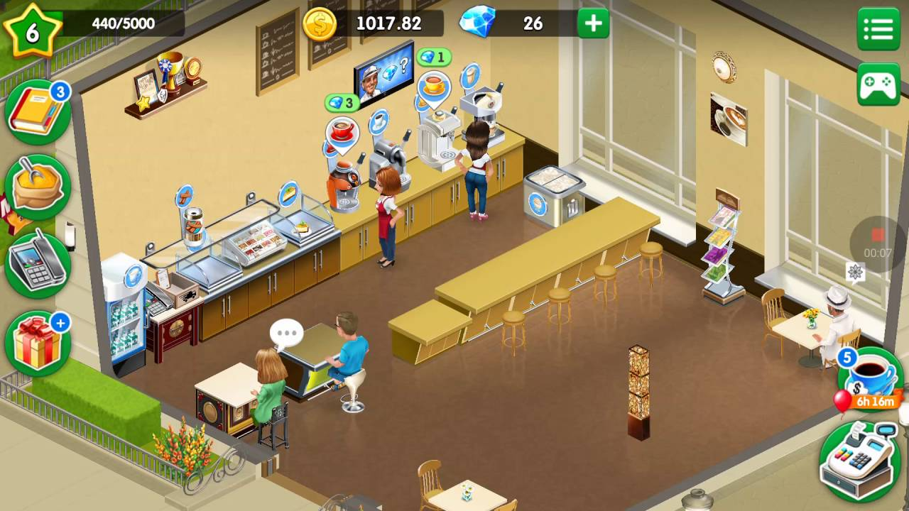 My Cafe: Recipes & Stories # 4 Level 6