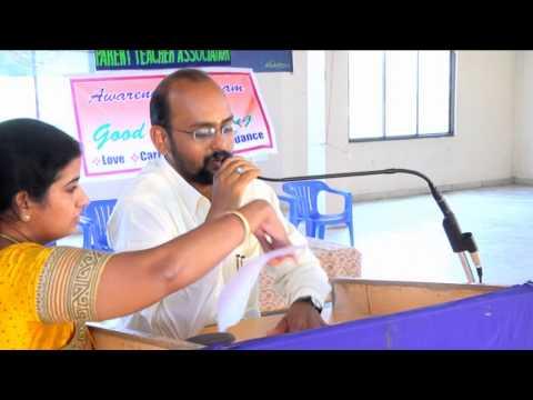 Mr Girishkumar, principal of new modern vidya mandir school speaks about good parenting