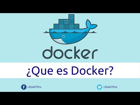 ¿Que es Docker?