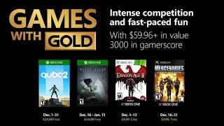 Xbox Games With Gold December 2018 Update   Worst Month Yet?