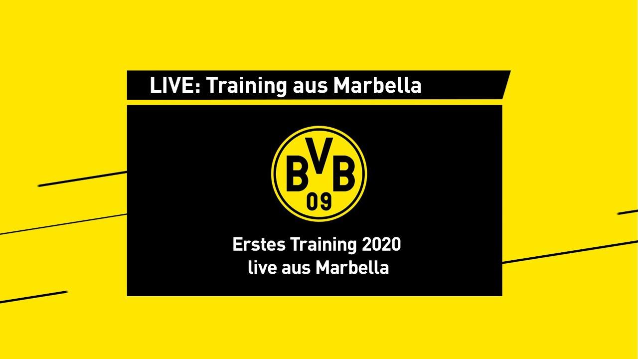 LIVE aus Marbella: Das erste BVB-Training 2020