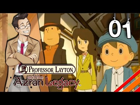 Professor Layton and the Azran Legacy |