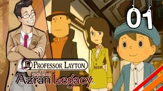 "Professor Layton and the Azran Legacy | ""Setting Off"" 