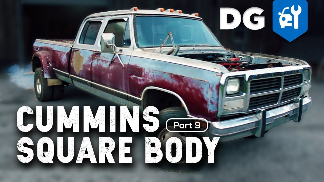 FIRST DRIVE: '85 Dodge Cummins 12v 4WD (Part 9) - YouTube