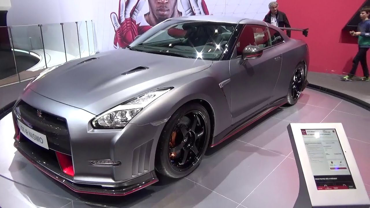 2016 nissan gt r nismo geneva motor show 2015 youtube. Black Bedroom Furniture Sets. Home Design Ideas