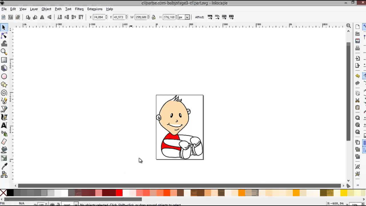 How To Edit A Vector Svg Image In Inkscape Free Vector