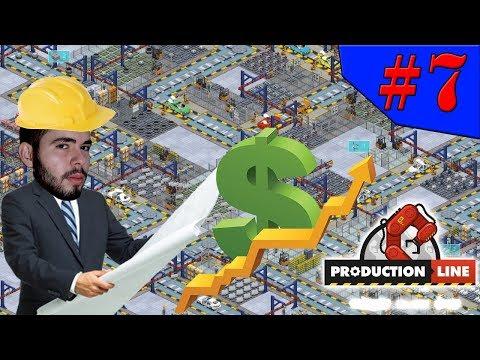 Production Line - CONSTRUINDO A LINHA DE PRODUÇÃO MAIS COMPLEXA!!! #7 (Gameplay / PC / PTBR) HD