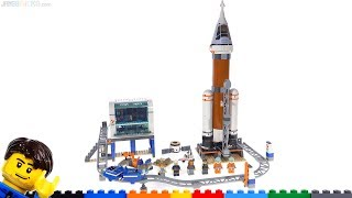Baixar LEGO Deep Space Rocket and Launch Control review 👍 60228