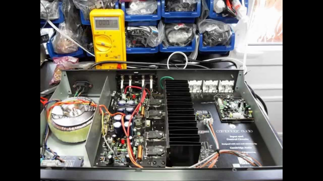 Cambridge A5 Amplifier Repair