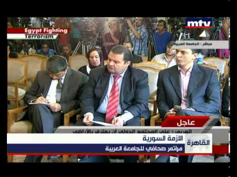 Press Conference - The Arab League - 02/09/2013