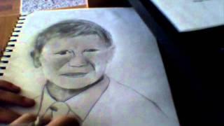 James Bond Speed Drawing