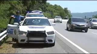 Cuidado Con Los Tira Piedras En Tramos De La Autopista 22. Más De 8 Camiones Han Resultado Con Daños