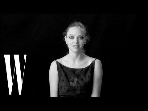 Amanda Seyfried on Sex with Justin Timberlake and Kissing Megan Fox  Screen Tests  W Magazine