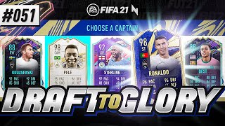 TOTY RONALDO IS TOO GOOD!!! - #FIFA21 - ULTIMATE TEAM DRAFT TO GLORY #51