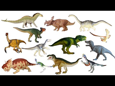 Cretaceous Dinosaurs 3 - Dracorex, Feathered Dinosaurs & More - The Kids' Picture Show
