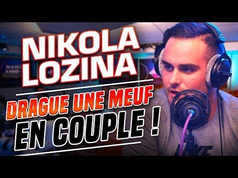 NIKOLA LOZINA DRAGUE UNE FILLE EN COUPLE 😱💔 - Marion et Anne So
