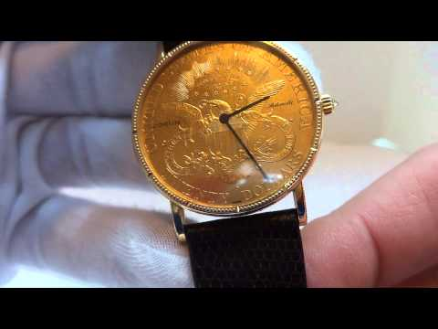 Corum $20 Gold Coin Automatic Watch