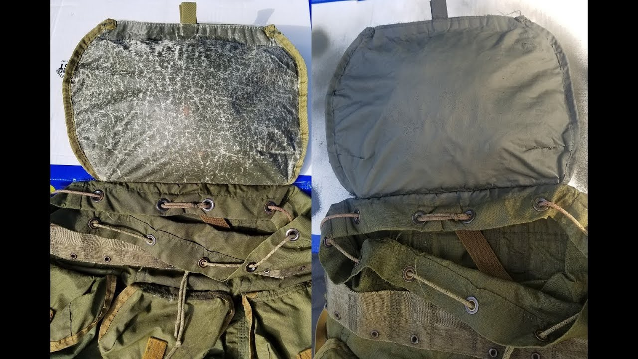 Quick & easy repair to your old ALICE pack lid