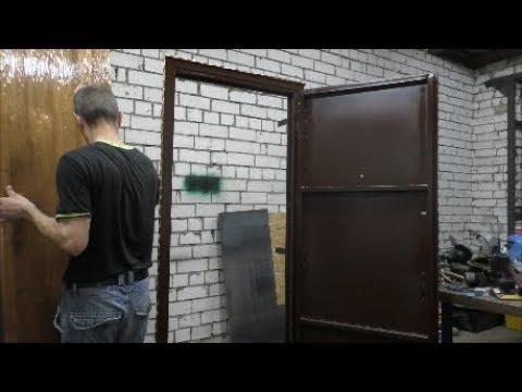 Изготовление металлической двери, с элементами декора.