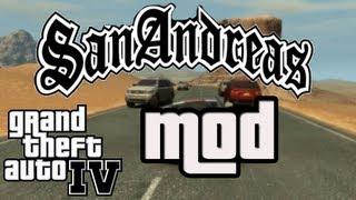 GTA IV - San Andreas Wüsten Mod !