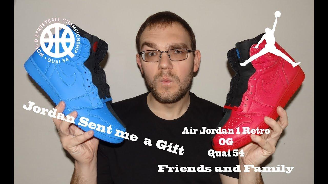 3512e1e80ed Jordan Sent Me A Gift !! Air Jordan 1 Quai 54 Friends and Family ...