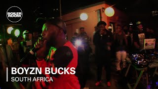Boyzn Bucks Boiler Room South Africa Live Set