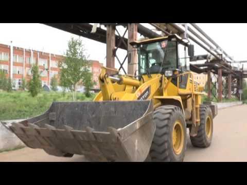 На машиностроительном заводе продолжается работа по оптимизации территории предприятия