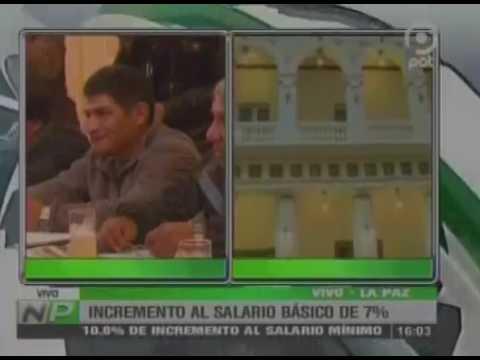 INCREMENTO AL SALARIO BÁSICO DEL 7%