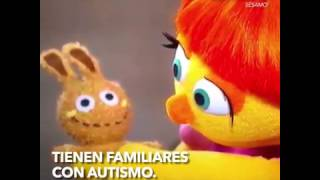 Plaza Sésamo tiene un personaje con autismo