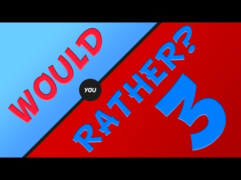 Thumbnail: I'M A MONSTER!! | Would You Rather #3